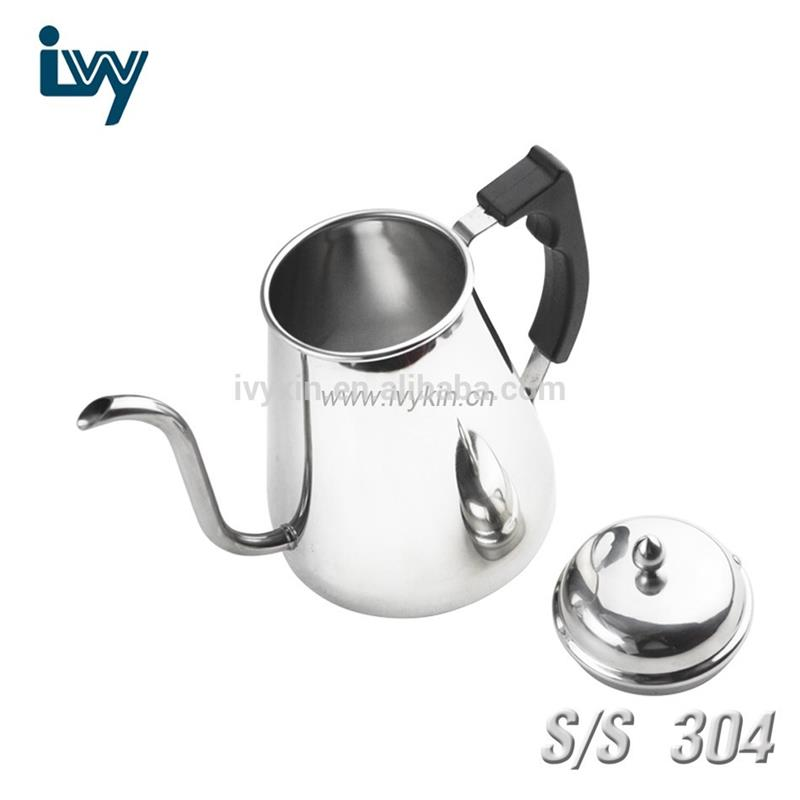 Stainless steel resulting in brewing environment that's a few degrees higher two parts coffee tea sets