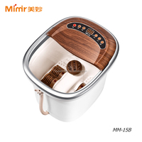 800W Deluxe Motorized Foot and Leg Spa Bath Massager with Calf-deep water container for both feet and legs