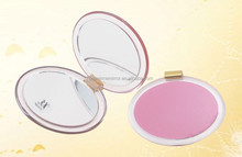 Oval Acrylic Compact Mirror