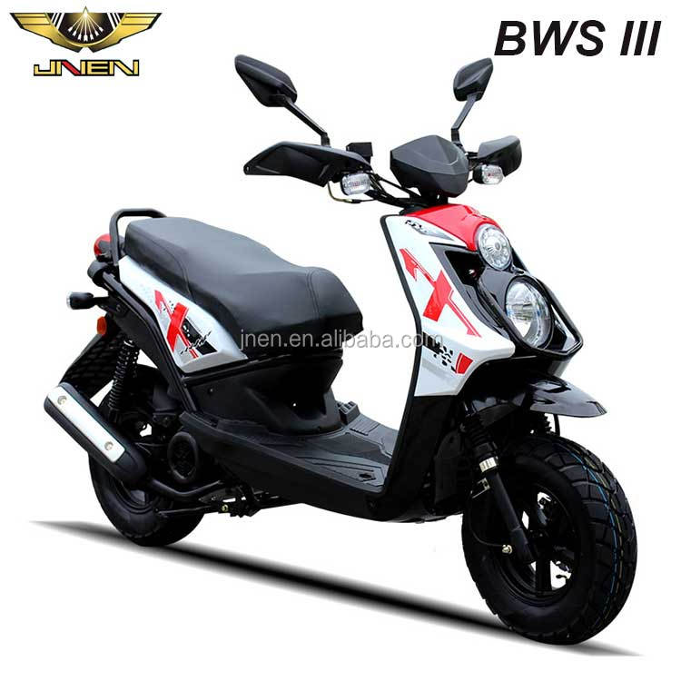 BWS III 50CC scooter petrol approved gas scooters jinlang brand engine sportive japan style up and down lights in front side