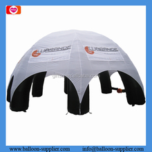 Commercial inflatable tent custom made tent with inflatable bottom