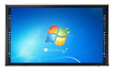 "Riotouch 65"" LCD LED Panel 10 Fingers Multi Touch IR Touch screen all in one pc USB Cheap OEM Touch Screen Monitor Smart Board"