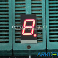 7 segment led display with 0.43inch,single digit