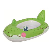 Portable Children'S animal design Swimming Pool Inflatable Boat customized inflatable baby boat