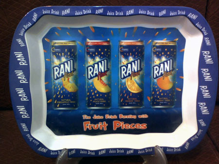 Rani Juice Promotional Tray