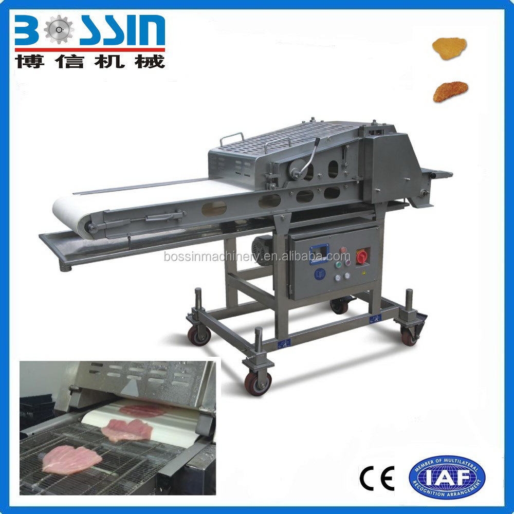 High speed professional sales meat steak flatten machine