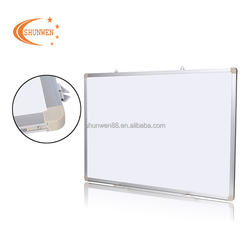 Magnetic white writing board teaching whiteboard foam board with aluminum frame