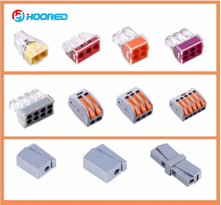 The most popular quick connect electrical push wire Connector