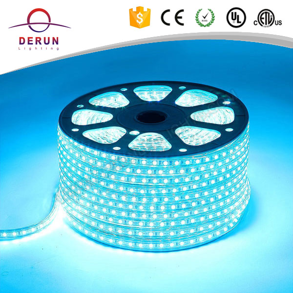 low price high volt led rope light 5050 color changing 100 m/roll