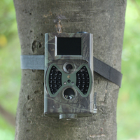 2016 Outdoor hidden trial camera camouflage apperance mini shape waterproof hunting trail camera