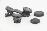 Custom fish eye lens for cell phone camera from top optical