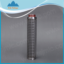 Stainless steel/STP-SUS316 mesh pleated filter cartridge/High temperature filtration