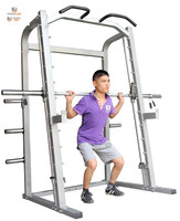 Professional box gym squat rack fitness power rack for sale smith machine smith comprehensive training aircraft