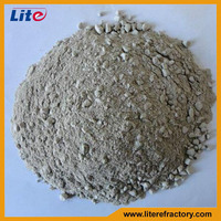 Factory Manufacture High Quality Castable Material and Powder Shape Fireclay Refractory Castable for Pizza Oven