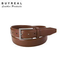 Mens Cowhide Split Leather LCY Brand Dress Belts
