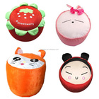 OXGIFT Made in China Alibaba Fabrication en gros Amazon taobao bar en plein air Loisirs en peluche fruits plantes gonflable enfant tabourets