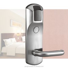 Free software Zinc Alloy security ID cards digital rfid hotel door lock