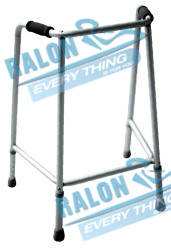 Aluminium Fixed Walker for elderly and disabled