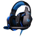KOTION EACH G2000 Over-ear Game Gaming Headphone Headset Earphone Headband with Mic Stereo Bass LED Light for PC Game