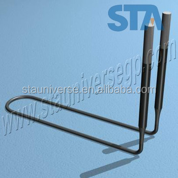 LU type Molybdenum Disilicide Heating Elements for high temperature furnace