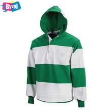 Hooded Rugby Jersey 100% Cotton French Terry Hoodies Sports Hoodies Custom Name and Number Online Shopping Manufacturer