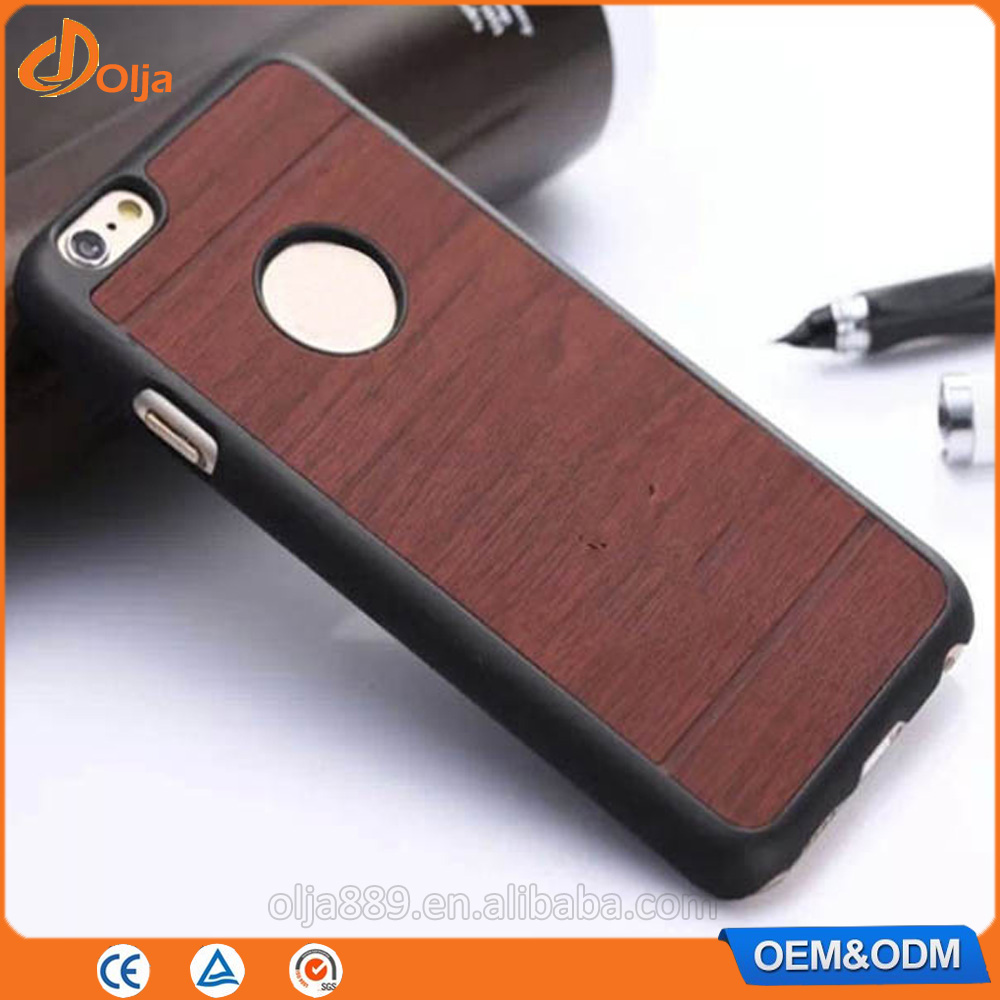 Wood grain pc hard plastic android phone case for iphone 7 phone unlocked