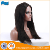 Best selling 180% density customize glueless full lace human hair wigs