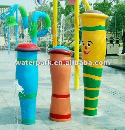 Water Column Spraygrounds-Water Fun Product