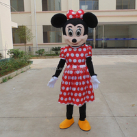 Wholesale online classic cartoon character Mickey beauty mouse mascot costume