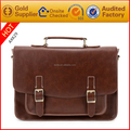 Manufacturer customize vintage pu leather men messenger bag