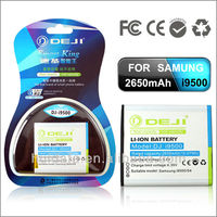 2016 New product, high power smallest mobile phone battery for samsung i9500 galaxy S4, high power mobile phone battery