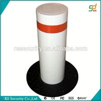2016 security access control system gi square steel pipe bollards