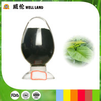 Strong acid-assistance nature plant extract green colorant