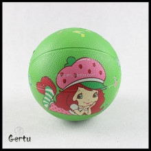 promotional size 1 colorful rubber basketball