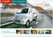 With A/C Single Cabin China 3-10tons 4x2 MINI-TRUCK
