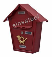 Professional manufacturer steel mailbox cabinet letter box postbox