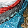 New Home Design! Colored Metal Sequin Mesh Fabric for Curtain
