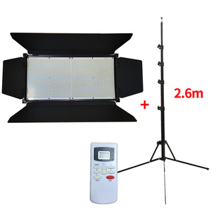 LCD display 95 cri aluminum 100W remote control dmx flexible video film shooting shenzhen led light with stand