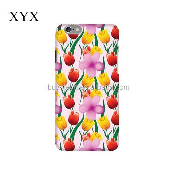 smooth surface with many colorful printed design back cover case for huawei mate8
