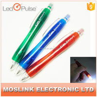 High Quality Promotional 2 in 1 multifunctional Advertising led light pen