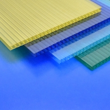 Cheap 3 wall polycarbonate roofing sheet 10 years warranty