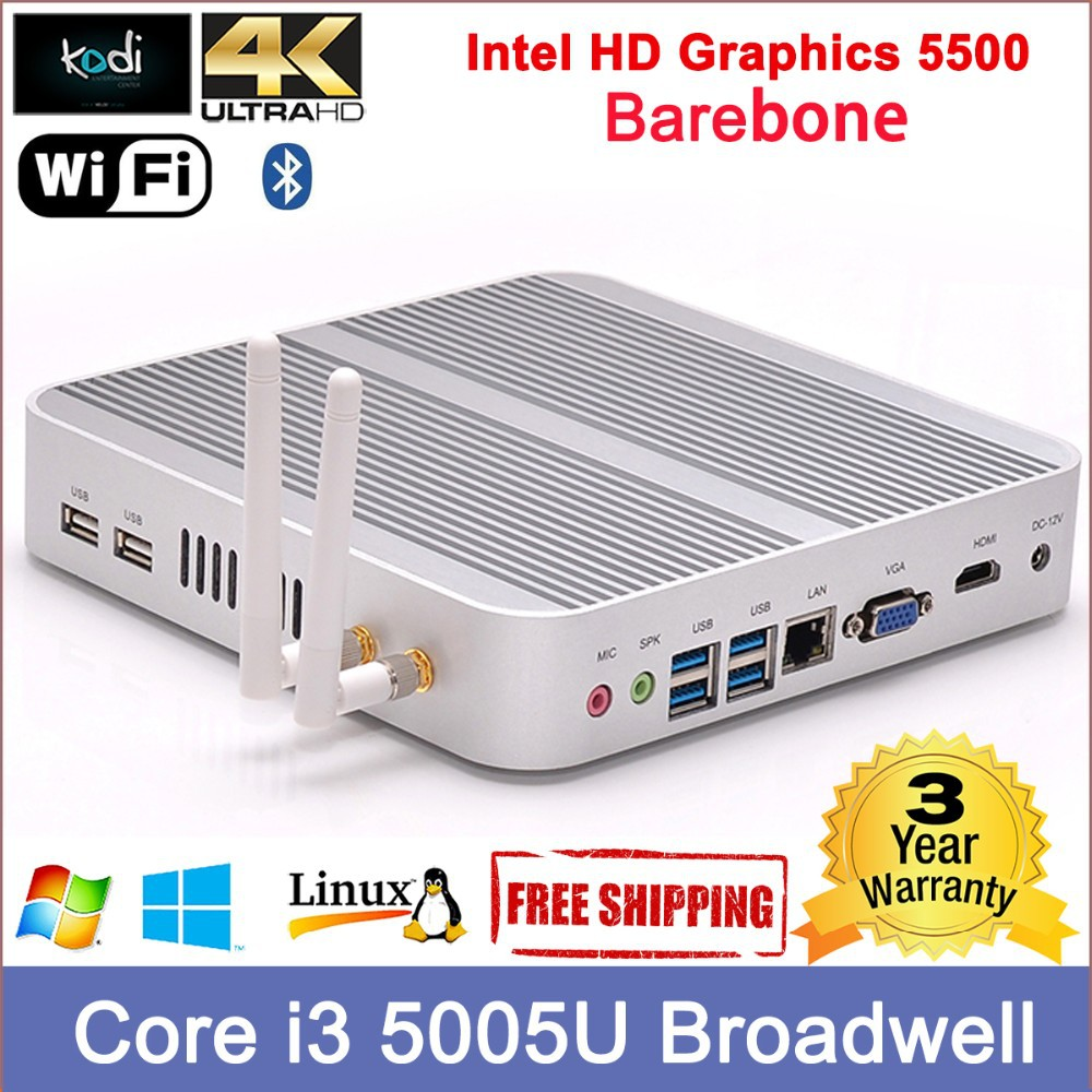 thin client kaufen Core i3 processor Dual display rj45 LAN vdi thin clients