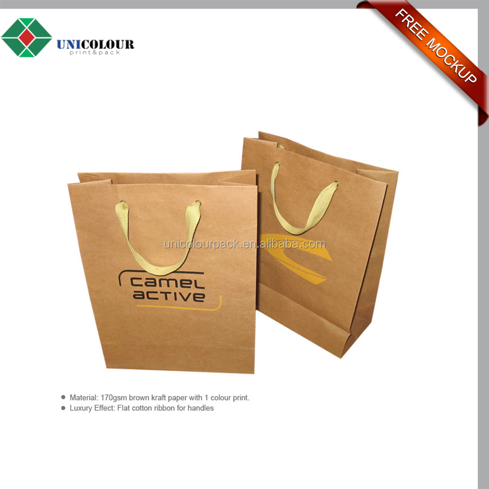 wholesale fancy design kraft paper bag for biscuit packaging