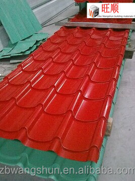 eco-friendly zinc coated metal roofing sheet for barns