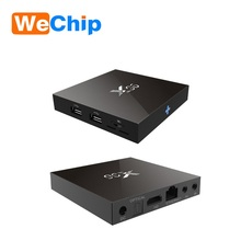 Wechip Digital TV Converter Box X96 Free Internet Quad Core Amlogic S905X 3G Android smart tv box with Sim Card