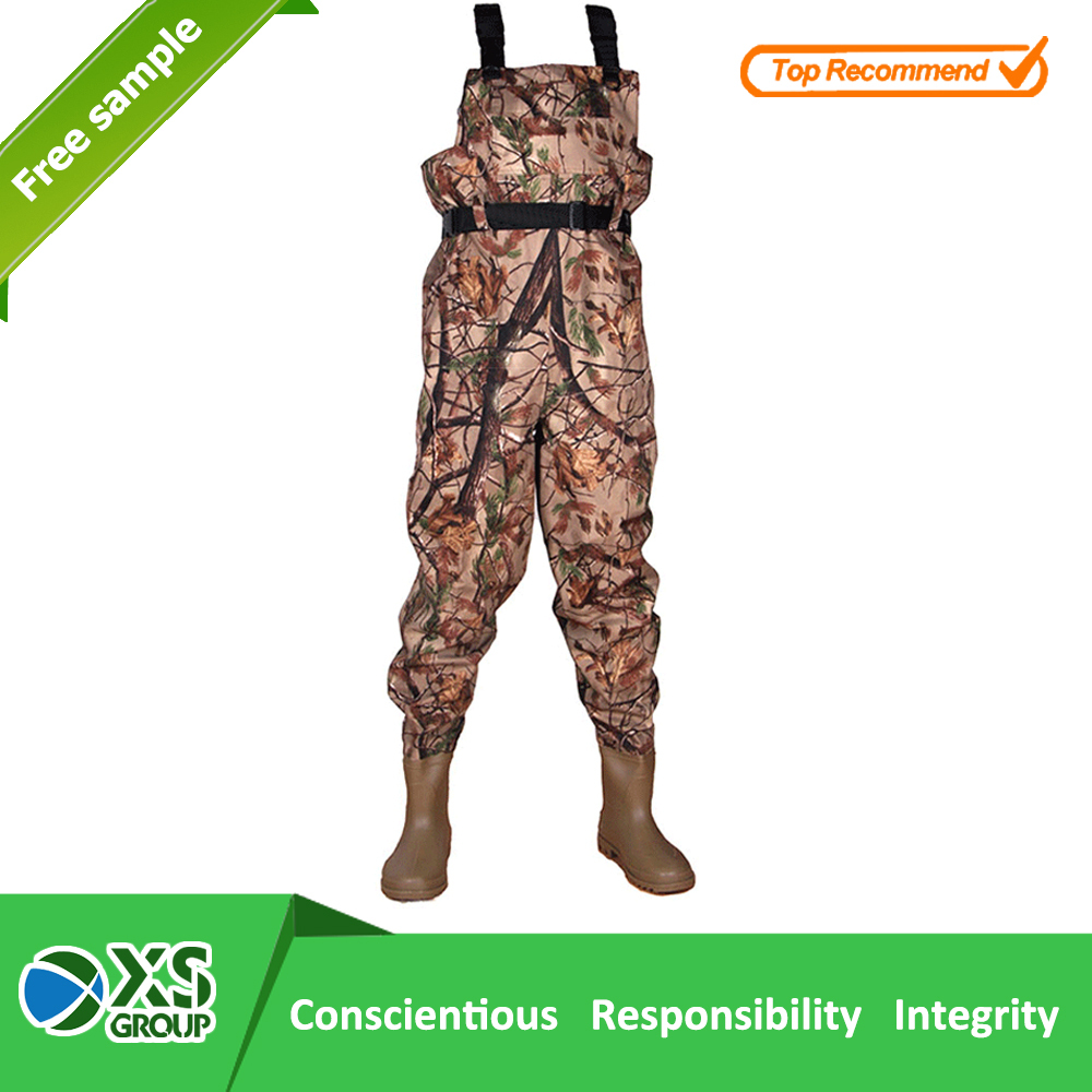 hot selling 5mm neoprene warm waders with camo print