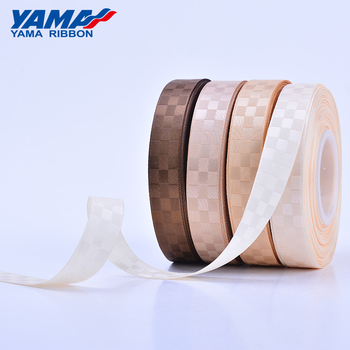 YAMA polyester satin grosgrain OEM ribbon custom