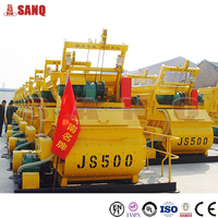 25-30m3/h JS500 Concrete Mixer Manufacturer in China