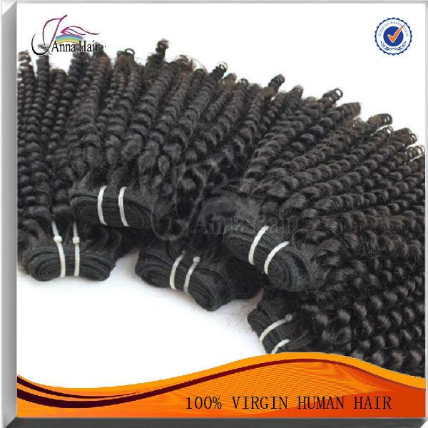 Anna Hair bouncy wave peruvian virgin hair women hair extension
