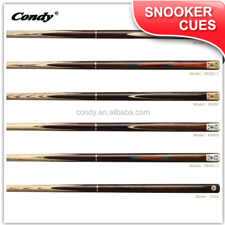 Condy long usage rosewood high quality snooker cue stick